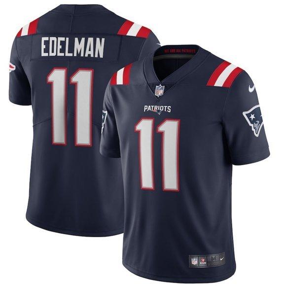 ⚨ Julian Edelman #11 New England Patriots Jersey